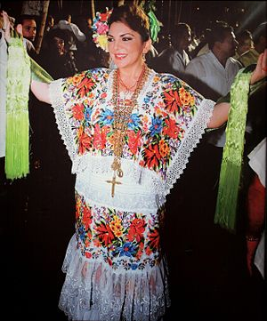 Ivonne Ortega Pacheco - Image: Ivonne Ortega en la Vaqueria