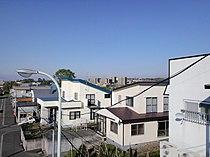 Iwamizawa-Hinode-residential-area from-Hinode-Minami-to-Hinodedai.JPG