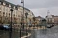 József nádor Square in rain - November 2019.jpg