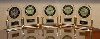 J.D. Power - A selection of the awards presented to the Ford Motor Company by J.D. Power in 2007