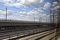 J28 688 Madrid, Zulaufstrecke zum Regelspurstadttunnel.jpg
