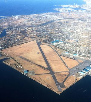 Kisarazu Air Field - Image: JGSDF Camp Kisarazu 2016