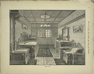 J. L. Mott Iron Works - Image: JL Mott bathroom interior