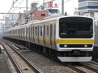 Chūō-Sōbu Line - Image: JR East 209 500 Mitsu 511