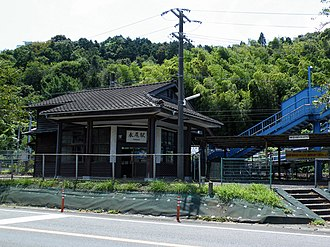 Nagao Station (Saga) - Nagao Station in 2008