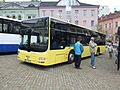Jablonec nad Nisou, Dolní náměstí, autobus MAN II.jpg