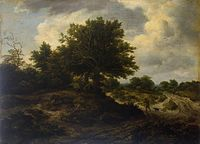 Jacob Isaacksz. van Ruisdael - Landscape with a Traveller - WGA20473.jpg