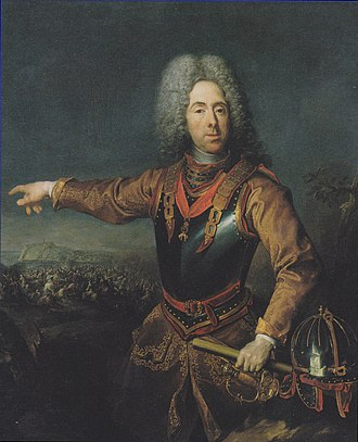 Österreichische Galerie Belvedere - Image: Jacob van Schuppen Prinz Eugen von Savoyen