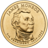 James Monroe Presidential $1 Coin obverse.png