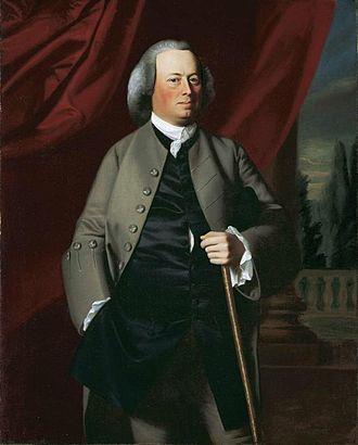 James Warren (politician) - James Warren circa 1763 Oil on canvas by John Singleton Copley