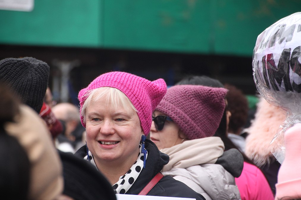 January 2019 Women's Alliance march in NYC (31864504487).jpg