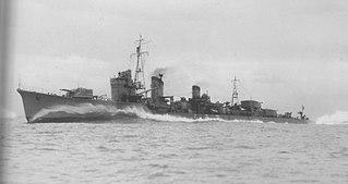 Japanese destroyer <i>Arashi</i>