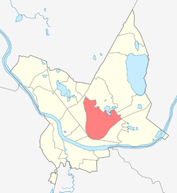 Location of Jaunbūve