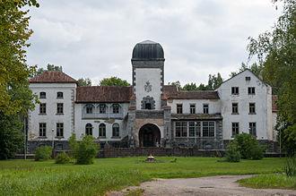 Gulbene Municipality - Image: Jaungulbene Manor, 2013, 1