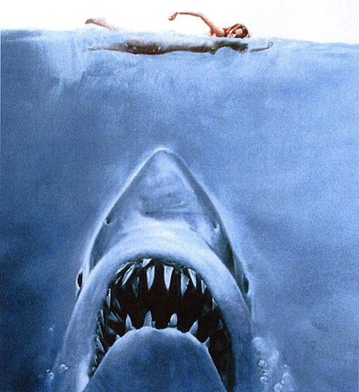 Jaws Book 1975 Cover