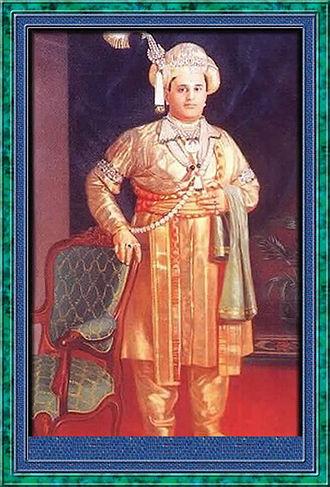Maharaja of Mysore - Jayachamaraja Wodeyar, the last ruling Maharaja