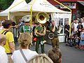 Jazzpolizei auf dem Bergmannstraßenfest 2012.jpg