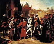 Jean Auguste Dominique Ingres - The Entry of the Future Charles V into Paris in 1358 - WGA11847.jpg
