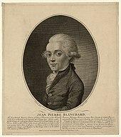 Jean Pierre Blanchard. (Source: Wikimedia)