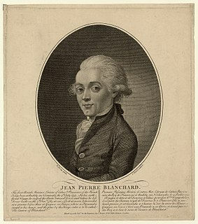 Jean-Pierre Blanchard French inventor and aviation pioneer