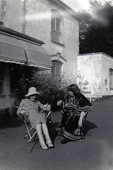 Jean Rhys and Mollie Stoner in the 1970s