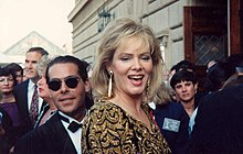 Smart at the 1991 Primetime Emmy Awards ceremony