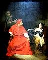 Jeanne d'arc malade est interrogée dans sa prison par le cardinal de Winchester-Paul Delaroche-MBA Lyon 2014.jpeg