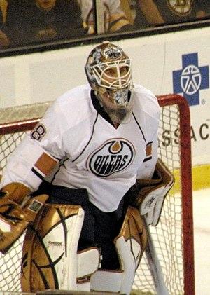 Jeff Deslauriers - Deslauriers in an Edmonton Oilers uniform in 2009
