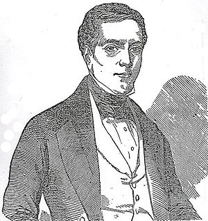 Jereboam O. Beauchamp - Etching of Jereboam O. Beauchamp