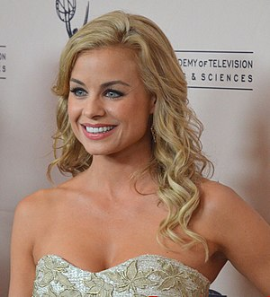 43rd Daytime Emmy Awards - Jessica Collins, Outstanding Supporting Actress in a Drama Series winner