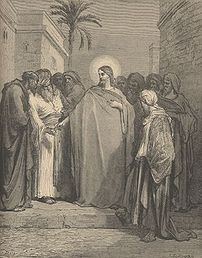 Dispute of Jesus and the Pharisees over tribute money