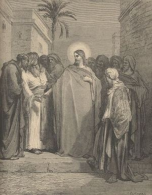 Pharisees - Gustave Doré: Dispute between Jesus and the Pharisees