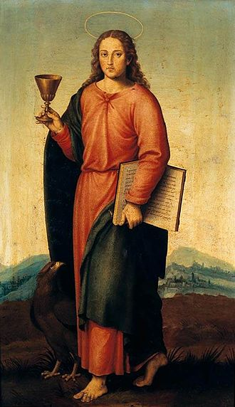 John the Evangelist - Image: Joan de Joanes St John the Evangelist WGA12061