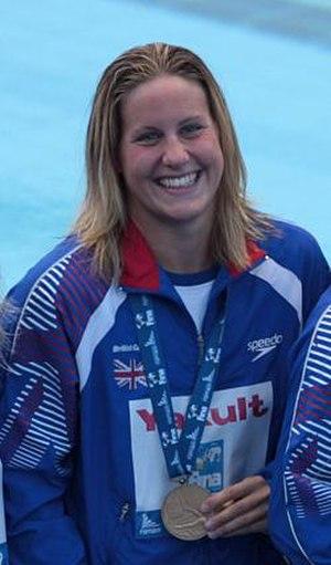 Joanne Jackson (swimmer) - Jackson at 2009 World Championships