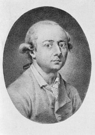 Johann Heinrich Wilhelm Tischbein - Tischbein's portrait by  Johann Heinrich Lips