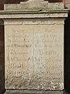 Johann Christoph Bendler 1789-1873 inscription on his gravestone.jpg