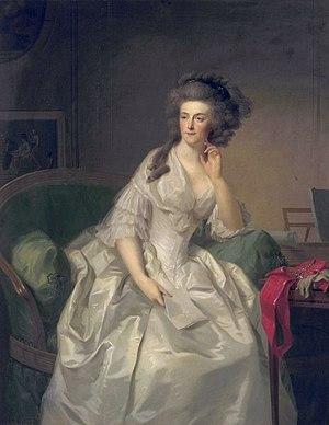Johann Friedrich August Tischbein - Image: Johann Friedrich August Tischbein Portret van Frederika Sophia Wilhelmina, prinses van Pruisen (1751 1820), echtgenote van Willem V, prins van Oranje