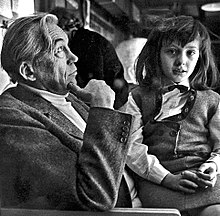 John Huston and Angelica.JPG