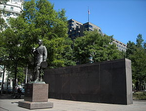 National World War I Memorial (Washington, D.C.) - John J. Pershing Memorial in Pershing Park
