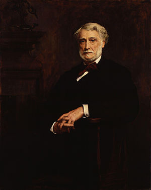 John Manners, 7th Duke of Rutland - Painting by Walter William Ouless.