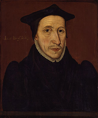 Bishop of Salisbury - Image: John Jewel from NPG