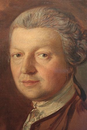 Joshua Kirby - Joshua Kirby by Thomas Gainsborough c.1755