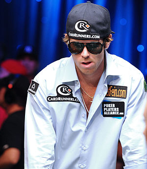 John Racener - John Racener at the final table of the 2010 World Series of Poker