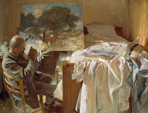 John Singer Sargent - An Artist in His Studio - Google Art Project