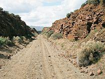 John Wayne Pioneer Trail - east end of Iron Horse park.jpg