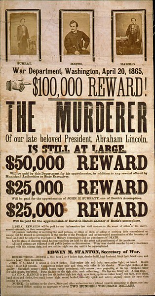 File:John Wilkes Booth wanted poster.jpg