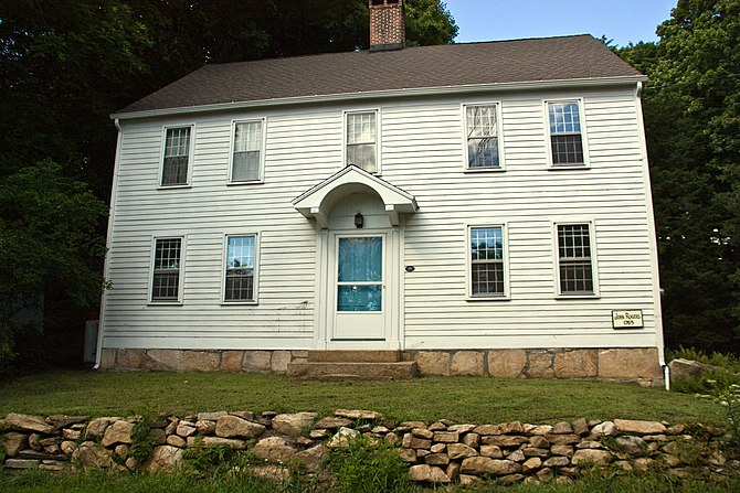 English: John Rogers House, Branford CT on Nat...