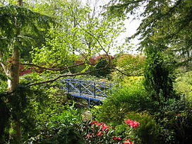 Bridge in Johnston Gardens