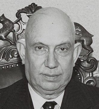 Deputy Prime Minister of the Netherlands - Josef van Schaik