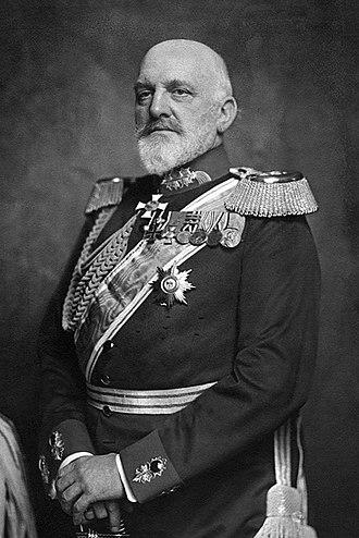Josias von Heeringen - General Josias von Heeringen c. 1914